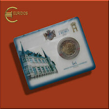 "2 Euro Gedenkmünze Luxemburg 2007 "" Palais "", Coin Card, Stgl."