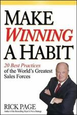 NEW Make Winning a Habit: 20 Best Practices of the World's Greatest Sales Forces