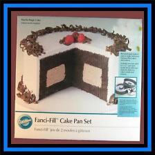 NEW! Wilton ***FANCI-FILL*** 2 pc Cake Pan Set! NIB #150