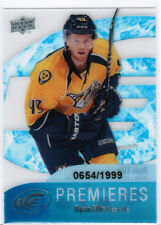 11/12 UD ICE RYAN ELLIS #55 PREMIERES ROOKIE RC 0654/1999 NASHVILLE PREDATORS