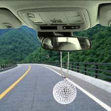 Car Pendant Bling Ball Hanging Ornament Rhinestone Interior Decor Crystal Bal qx