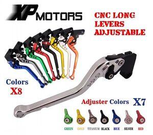 CNC Long Brake Clutch Levers for BMW F800S 2006-2014 F800ST 06 07-15 F800R 09-15