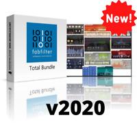 FabFilter Total Bundle v2020 VST Plugins (WIN) Full Version INSTANT eDelivery 🚒