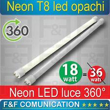 NEON LED TUBO LED  120 CM  T8 OPACHI CALDO FREDDO SPOT LED 220V LUCE 360 GRADI