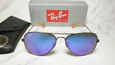 Ray Ban Aviator RB 3025 167/1M Bronze/Copper / Blue Violet Flash sunglasses 58mm