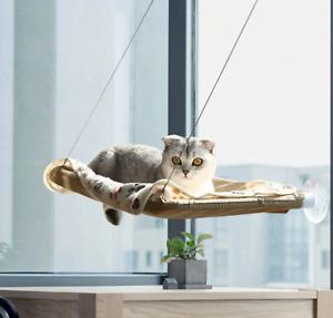 Cute pet cat Hanging Bed Window Mount Sunny Seat Comfortable pet bed 20kg