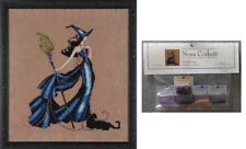 Nora Corbett Mirabilia Cross Stitch PATTERN & EMBELLISHMENT Pack GIGI NC206