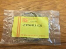 RS PRO 151-192 Type K Thermocouple 2m Length, 1/0.3mm Diameter, -50°C to +400°C