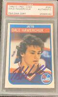 1982 1983 OPC Dale Hawerchuk AUTO PSA DNA RC ROOKIE #380 AUTOGRAPH