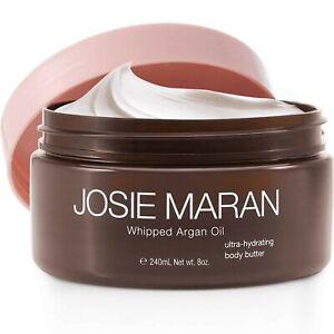 Josie Maran Whipped Argan Oil Body Butter - 240 ml 8 oz Vanilla Fig