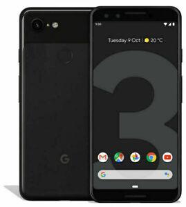 Google Pixel 3 - 64GB / 128GB - Black / White / Pink - Unlocked - Smartphone