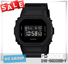 BRAND NEW WITH TAG G-Shock 200 BLACK SERICES Matte Black COLOR  DW5600BB-1