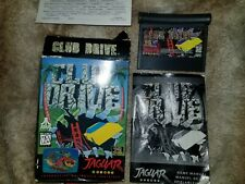Club Drive Atari Jaguar Game - Box Manual Game Registration Card