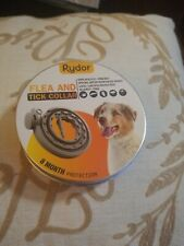 Rydor Dog Flea & Tick Collar- Natural Flea Prevention Collar Dogs - One Size Fit