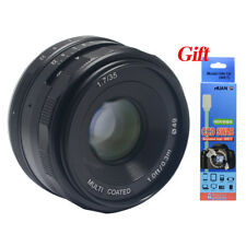 Meike 35mm f1.7 large Aperture Manual Multi Coated Focus lens for Sony A6000
