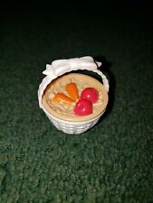 Mattel Barbie Basket With Carrots & Apples Food Accessory