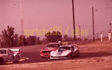 Chevy Corvette #3 / BMW CSL #25 @ 1978 IMSA Portland - Vtg 35mm Race Negative