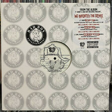 "P. DIDDY + BUSTA RHYMES + NOTORIOUS B.I.G. - WE INVENTED THE REMIX (12"")  2002!!"