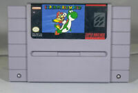Super Mario World - Nintendo SNES Game Authentic