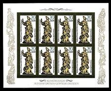 """GERMANIA - DDR - 1984 - Sculture """"Le quattro stagioni"""" - 20 p. Estate - Minif."""