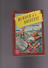 VINTAGECRIME DIGEST.GGA! NICE COVER ART! MURDER OF A NOVELIST.1946.NICE COPY