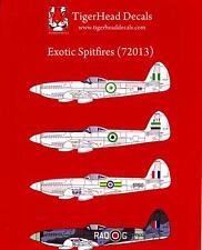 Tigerhead Decals 1/72 EXOTIC SPITFIRES Supermarine Spitfire w/Griffon Engine