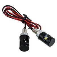 2x Universal 12V Car Auto Motorcycle SMD LED License Plate Bolt Light Lamp Bulb