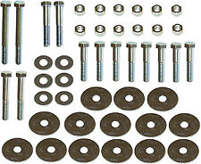 1955-1957 Chevy Belair, 210, or 150 Sedan, Wagon,or Nomad Body Mounting Bolt Kit