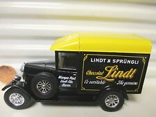 MATCHBOX MODELS OF YESTERYEAR 1990 Y47 LINDT CHOCOLAT 1929 MORRIS VAN MINT NoBx*