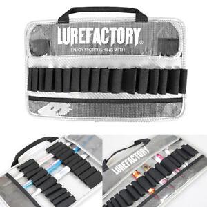 LF Metal Jig Bag Both Sides Case Jigging Bait Pack Holder Portable Bags Carrier