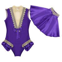 Damen Ärmellos Bodysuit mit Umhang Cape Outfits Fasching Party Cosplay Kostüm