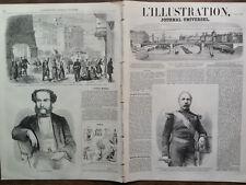 L'ILLUSTRATION 1859 N 845 LE GENERALE ANTOINE- PHILIPPE GUESVILLER