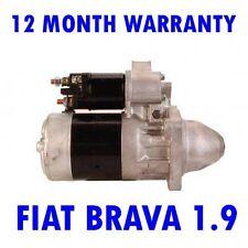 FIAT BRAVA 1.9 HATCHBACK 1995 1996 1997 1998 1999 2000 2001 STARTER MOTOR