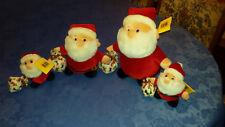 Sunkid 4 schöne Stoff-Weihnachtsmännerfamilie von Sunkid