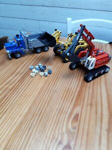 VRAI LEGO TECHNIC 42023 : CONSTRUCTION CREW