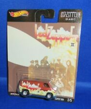 LED ZEPPELIN 2 PREMIUM COLLECTOR HOT WHEELS SUPER VAN 2/5, NEW