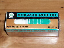 BOKASHI MASSAGE RUB /  HEALING OIL. BALI BALINESE OIL. MEDIUM SIZE 35 ML