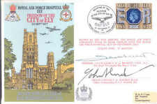 C50c RAF Hospital Ely 1977 signed Cathedral cover