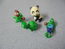 Vintage Kinder Surprise toys Rare Tao Tao Bien Maja (Bees) Turtles 1985/86/87