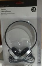 Headphones Round Black/Silver New by Signalex Sound