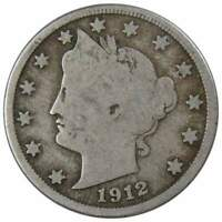 1912 D Liberty Head V Nickel 5 Cent Piece 5c US Coin Collectible