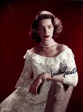 LAUREN BACALL signed autographed photo (1)