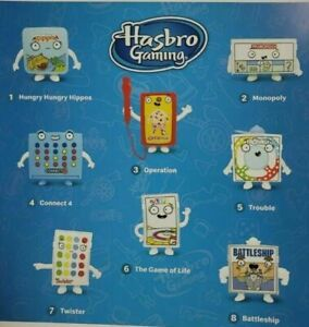2021 Mcdonalds Happy Meal Hasbro Gaming Toys You Choose with Flat Shipping