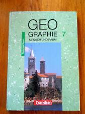 Geographie 7, Mensch und Raum   Realschule, Bayern,1994, wie neu