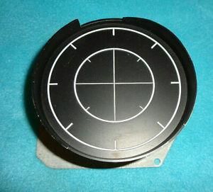 1968-70 MOPAR B-BODY CHARGER SUPERBEE RALLYE INSTRUMENT CLUSTER CLOCK BLANK NICE