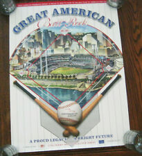 Cincinnati Reds Great American Ballpark Poster as proposed from year 2000 18x24