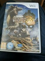 Monster Hunter 3 Tri Nintendo Wii & PAL Great Condition With Manual