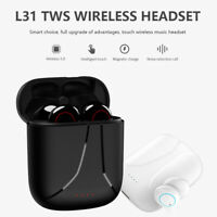 Stereo Bluetooth 5.0 TWS Auricolare Touch Control per IOS Android Con Il Mic
