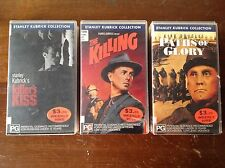 STANLEY KUBRICK The Killing Killers Kiss Paths Of Glory Original VIDEO TAPE VHS