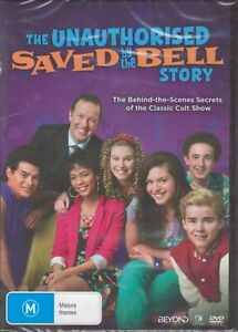 The Unauthorised SAVED BY THE BELL Story DVD Behind-The-Scenes NEW & SEALED